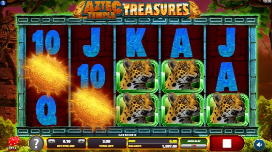 Aztec Temple Treasures Casino Games