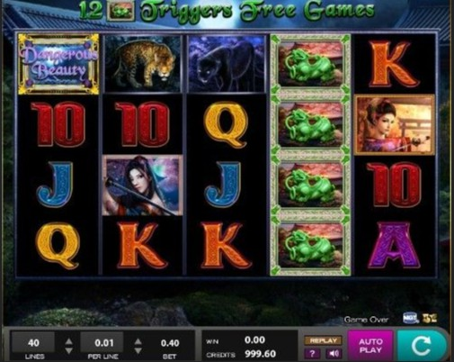 Dangerous Beauty mobile slot