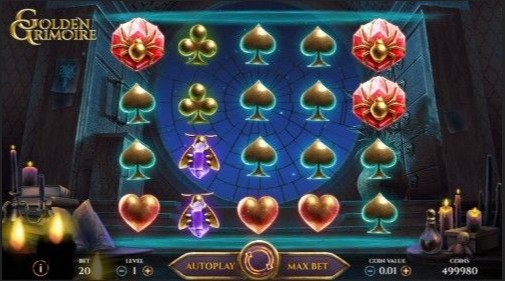 Golden Grimoire UK Casino Games
