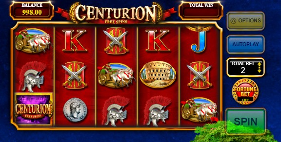 Centurion Free Spins Casino Games